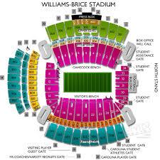 Williams Brice Stadium Seating Chart Best Seat 2018
