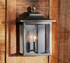 french outdoor lighting. Classic Indoor Outdoor Sconce Pottery Barn Pertaining To Lantern Remodel 12 French Lighting