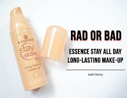 i saw essence stay all day 16h long lasting foundation at a mall one day and wanted to pick it up because of its it rels for only php 319