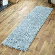 gy blue thick pile rug duck egg round