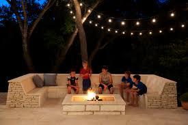 patio lighting ideas gallery. Terrific Outdoor Festoon Lighting Decorating Ideas Images In Patio Contemporary Design Gallery U