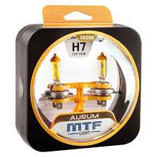 <b>Лампы</b> галогенные <b>MTF Light H7</b> AURUM (2шт) купить в Тюмени в ...