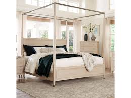 Standard Furniture Sausalito Transitional Queen Canopy Bed | Dunk ...