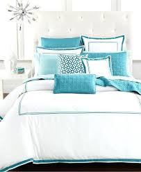 turquoise and black comforter set
