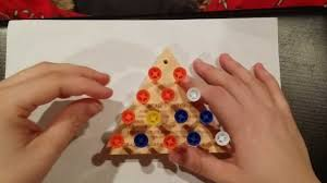 Wooden Triangle Peg Game How to beat the cracker barrel peg game using a baseball analogy 87