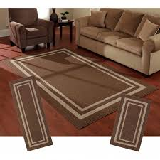 contemporary ideas 3 piece living room rug sets area rugs and runner sets katiyscom