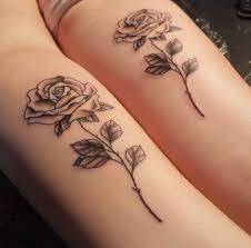 Tatuaggio Sole E Luna Sorelle
