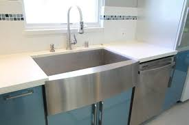 Vigo Single Basin Stainless Steel Apron Front Kitchen Sink Stainless Steel Farmhouse Kitchen Sinks