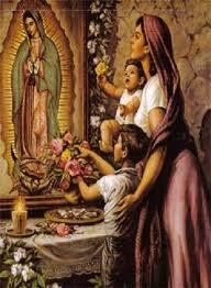 veneración a las imágenes de los santos