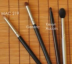 they re smaller than the average eye makeup brush somewhat stiff and shaped well like a pencil tip i like them for a couple of purposes for smudging