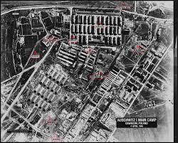 map  auschwitz