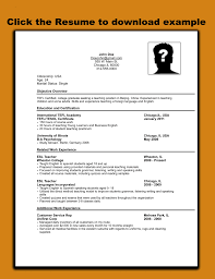 Job Application Resume Template Example For Cvmple Pdf Download