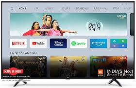 Mi TV 4A PRO 80 cm (32 inches) HD Ready Android LED TV (Black) | With Data  Saver- Buy Online in Qatar at qatar.desertcart.com. ProductId : 181852738.