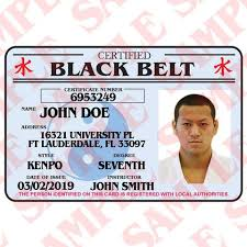 Id – Certified Maxarmory Black Belt Card
