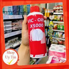Tẩy Trắng X5000 - Vic oxy,Tẩy trắng quần áo - Máy hút bụi khác