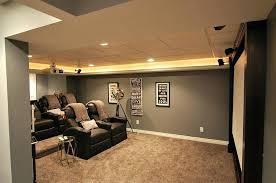 Finish Basement Design Beauteous Basement Theater Ideas Elegant Basement Home Theater Keeps Things