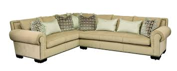 bentley sectional leather sofa with marge carson 1