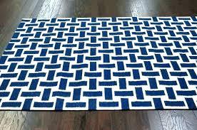 large striped rug blue and white size of black uk