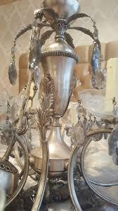 Kronleuchter Lüster Echt Silber Antik In 13357 Berlin For