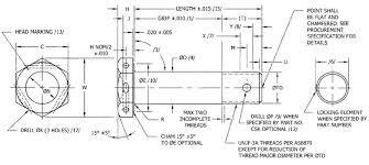 Nas Bolt Size Chart Nas Bolts Manufacturer Distributor Nas6203 Nas6210