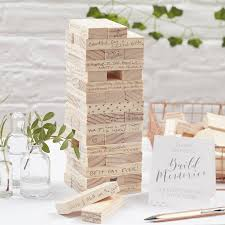 Build A Memory Wedding Guest Book Alternative By Ginger Ray