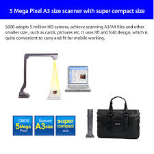 <b>S600</b> High-Speed <b>A3 A4</b> A5 Document Photo Book ID Video Cam ...