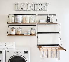 ton laundry drying rack pottery barn