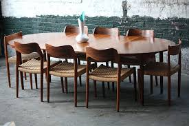 mid century modern dining room sets set round table furniture