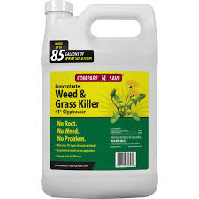 Compare N Save 1 Gal Grass And Weed Killer Glyphosate Concentrate