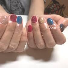 オールシーズン旅行リゾート女子会ハンド Cocon Nailのネイル