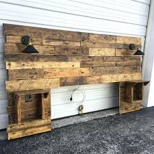 rustic headboard with lights cabinets s and charger diy headboard plans rustic headboard standard wood headboard queen by diy headboard ideas