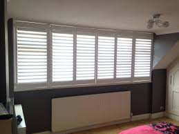 Design Shutters Inc Houston Tx 3m Long Window Transformed By My Shutters Shutters