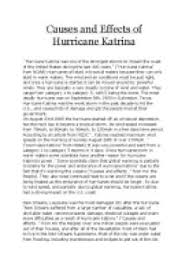 hurricane katrina gcse geography marked by teachers com causes and effects of hurricane katrina
