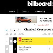 Classical Charts 5 Lds Artists Hit Top 10 On This Weeks Billboard Classical