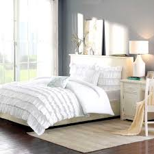 audacious bed white quilt bedroom decoration ideas n ideas white ruffle duvet aqua and pink baby bedding ruffle duvet cover white ruffle comforter queen