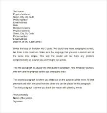 Professional Letter 12 Samples Examples Formats