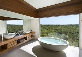 Stunning winter views enjoyed from the bathtub