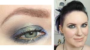 makeup geek blue green foiled free tutorial