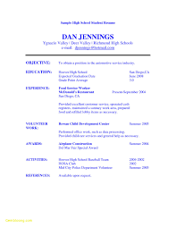 Resume Builder Objective Examples Free Resume Builder for Highschool Students Download now High School 43