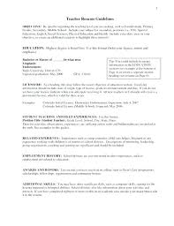 English Resume Resume Samples In Sample For Teachers English Resume ...