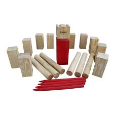 Wooden Yard Games Triumph Sports USA Kubb Yard Game Set100100 The Home Depot 93