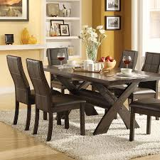 3 Piece Kitchen Rug Sets Stylish 7 Piece Trestle Dining Room Table Set Dining Table Sets 7