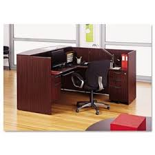 Small office reception desk Curved Belle Series Lshape Reception Desk Wayfair Small Reception Desk Wayfair