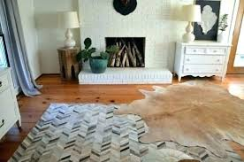 cowhide area rug rugs outstanding for ordinary white large faux area rug cowhide