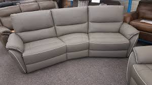mbmegabargain scs teo 4 seater curved electric recliner sofa