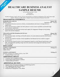 Healthcare Business Analyst Resume Example (http://resumecompanion.com) # health #career | Resume Samples Across All Industries | Pinterest |  Business ...