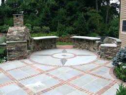 fresh paver patio cost or installing average of