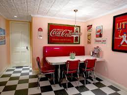 American Diner Kitchen Accessories 14 Smart Design Ideas For Underused Basements Hgtvs Decorating