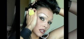 how to create a chola look with the illusion of shaved brows makeup wonderhowto