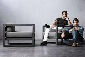rh outdoor furniture. harrison and nicholas condosu0027s outdoor furniture for rh architectural digest rh